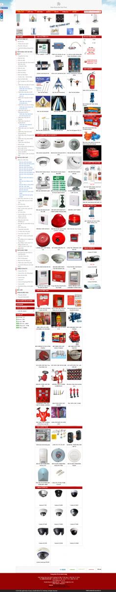 website thiết bị phòng cháy chữa cháy