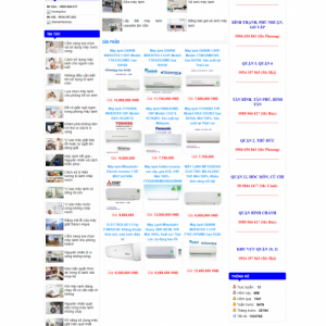 website điện lạnh