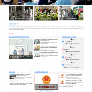 website giới thiệu doanh nghiệp