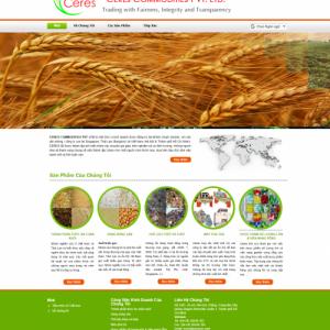 website nông nghiệp